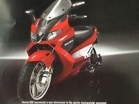 Gilera Nexus 500 maxi scooter Vespa, Piaggio