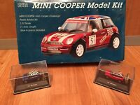 Mini cooper model kit with 2 mini cars included for free