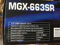 Megavox Car Stereo Speakers 250watt