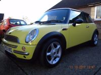 MINI COOPER 2003 MINT CONDITION THROUGHOUT, F.S.H