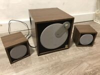 Microlab subwoofer speakers system
