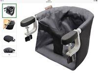 Mountain Buggy Pod Portable Highchair, Flint
