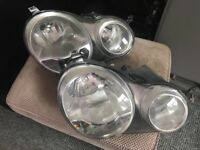Pair of headlights VW Polo genuine