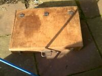 LARGE JOINERS BOX FROM 1960s WITH TOOLS