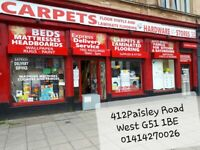Carpets,Wallpaper,Paint,Furniture,Blinds,Underlay,Vinyl,Laminate,Beds,Appliances,Bedding