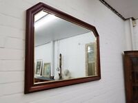 Large Wooden Wall Mirror - DELIVERY AVAILABLE