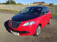 Chrysler Ypsilon Black/Red in Great Condition with Full Year's MOT and Low Mileage