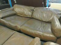 InCanto Leather large 3 seater sofa #31974 £100
