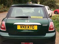 Mini Cooper 20011 British Racing Green