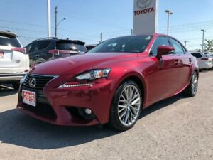 2015 Lexus IS 250 AWD LUXURY PKG!