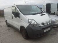 **FOR BREAKING** 2005 Nissan Primastar 1.9D diesel.