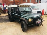 2004 Land Rover defender - Santana ps10 4x4 full off roading gear may swap try me !!!