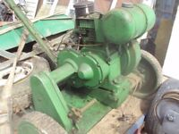 OLD LAWN MOWER VILLIERS ENGINE