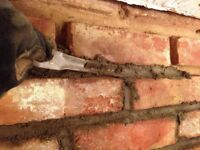 Brick &cement work & travail de brique&cement