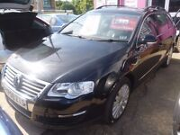 Volkswagen PASSAT Highline TDI 1896 cc Estate,FSH,full MOT,Full heated leather interior,great mpg