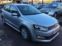 Volkswagen Polo 1.2 TDI BlueMotion Tech 5dr£5,995 p/x welcome 1 YEAR FREE WARRANTY. NEW MOT