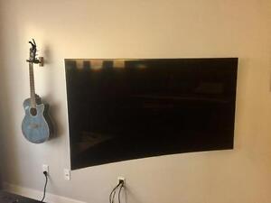 Installation de télévision au mur / Installation de Support mural Télé