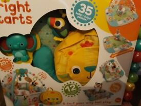 Brand new bright stars 5 in 1 play gym