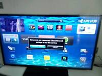 "SAMSUNG 40"" SMART TV WITH REMOTE, RECEIPT AND MANUALS MODEL #UE40ES5500"