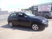 Seat IBIZA Reference Sport TDI,3 door hatchback,FSH,2 previous owners,2 keys,runs and drives well
