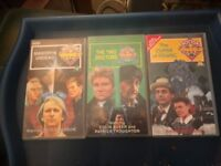 3x VHS DOCTOR WHO