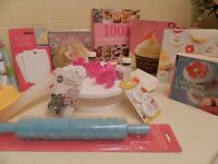 Cake Decorating equiptment and Cake decorating Books