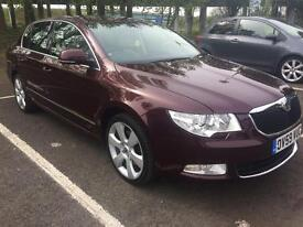 SKODA SUPERB 2.0 TDI CR ELEGANCE 5DR DSG AUTO 170 BHP ***timingbelt water pump+dsg oil changed***