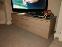 Sturdy TV Unit Cabinet Chest Drawers