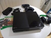 Xbox One (500gb) with Elite Controller & Two games