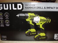 guild hammer drill & impact driver