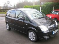 One owner, 2006, Vauxhall meriva, 35591 miles from new