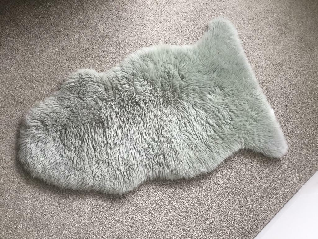 Picture of: Grey Sheepskin Rug In Bournemouth Dorset Gumtree
