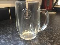Pilsner pint glasses