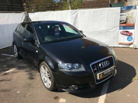 2008 Audi A3 S Line 2.0 Tdi 170 Dsg *1 Former Keeper* *Leather* Full Audi History 3 Month Warranty