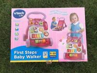 Vetch first steps baby walker. BNIB