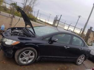 Parting Out 2006 Acura CSX Touring Manitoba Preview