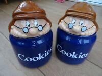 Tetley Cookie Jars