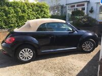 Volkswagen VW Beetle Convertible, 2014, 51,000 miles, 1 Female owner, Full service history
