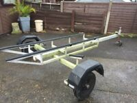 DINGHY or JET SKI ROAD TRAILER Suspension Units replaced last year SOUTHAMPTON AREA