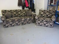 Large Sofa 4 seat & matching 2 seat chair. Comfortable & good condition. £400. Exeter, 07581-280907