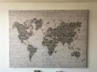 Large map canvas