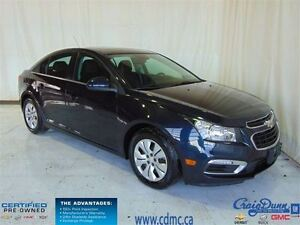 2016 Chevrolet Cruze * 0.9% Financing * Sunroof * Backup CAM *