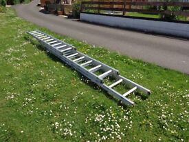 Trippel Extension Ladder 7.4 max hite