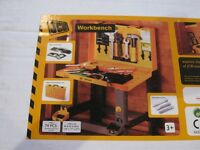 JCB Work Bench and Tools Toy Brand New in Unopened Box Unwanted Gift