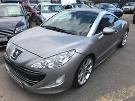 2012/12 PEUGEOT RCZ 1.6 THP GT 2DR SILVER ,AUTOMATIC,FULL LEATHER,HIGH SPEC,STUNNING LOOKS,AUTO