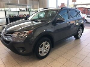 2014 Toyota RAV4 LE + 4x4 +  BLUETOOTH +  CAMERA RECUL