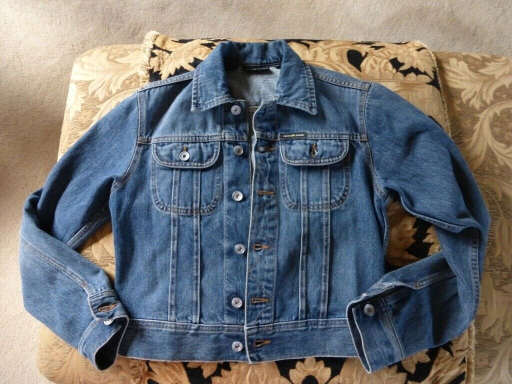DKNY JEANS LADIES DENIM JACKET NEW NEVER WORN | in Alsager, Staffordshire |  Gumtree