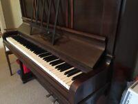 1930s Monington & Weston upright piano.