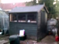 Garden Shed Free to anyone who will take it down and away. It is 7 ft by 5 ft