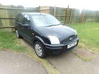 2003 Ford Fusion 1.4 16V Black